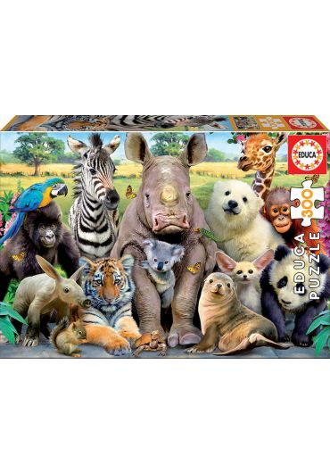 Puzzle 300 piese It's a class photo
