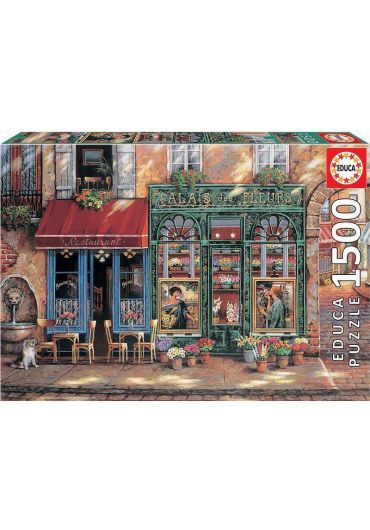 Puzzle 1500 piese Palais des Fleurs