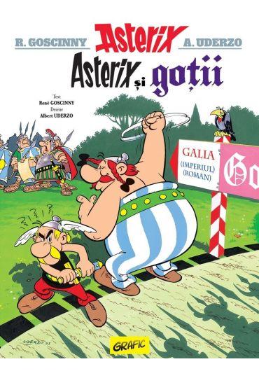 Asterix, vol. 3. Asterix si gotii