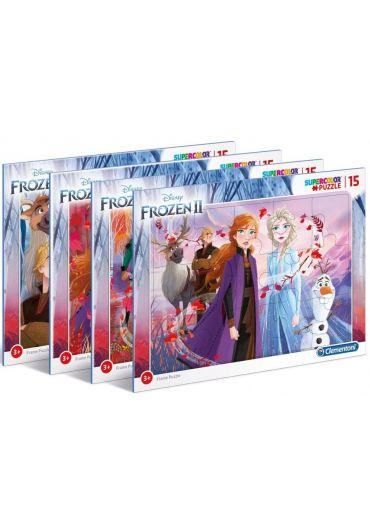 Puzzle 15 piese Disney Frozen 2