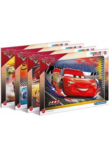 Puzzle 15 piese Disney Cars