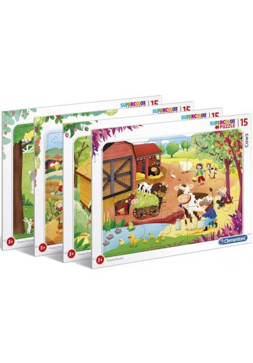 Puzzle 15 piese Farm