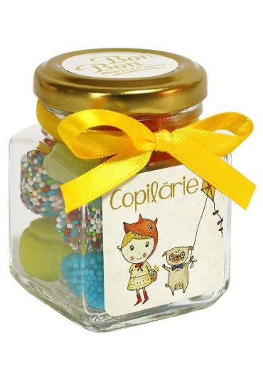 Borcan Bonbon - Copilarie pentru Baietel/Fetita