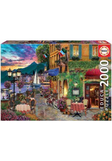 Puzzle 2000 piese Italian Fascino