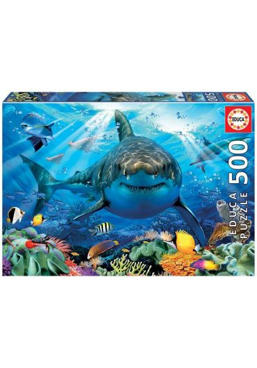Puzzle 500 piese Great White Shark