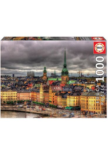 Puzzle 1000 piese View of Stockholm, Sweden