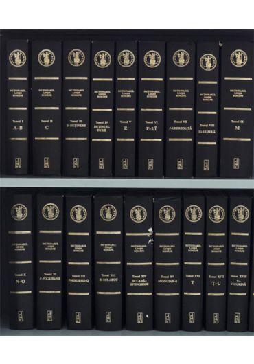 Dictionarul limbii romane, vol. 1-19