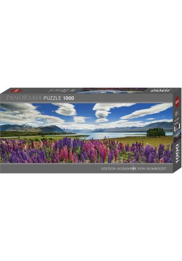 Puzzle panoramic 1000 piese Lake Tekapo