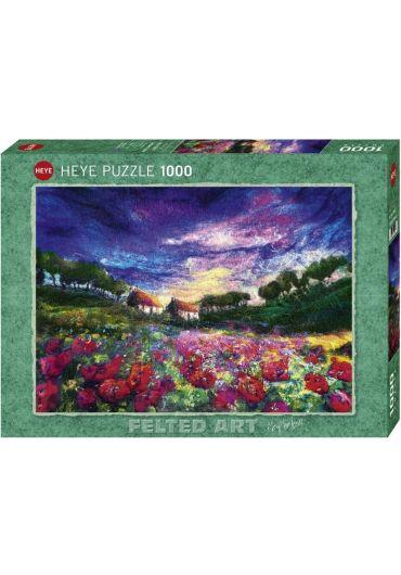 Puzzle 1000 piese Sundown Poppies