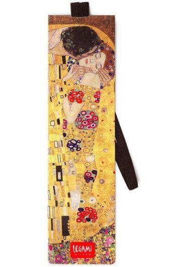 Semn de carte cu elastic - Gustav Klimt's
