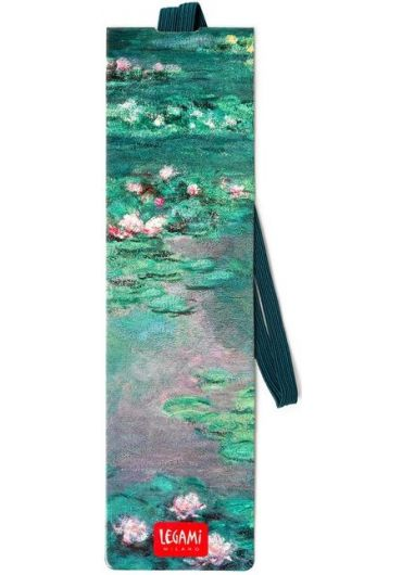 Semn de carte cu elastic - Claude Monet's