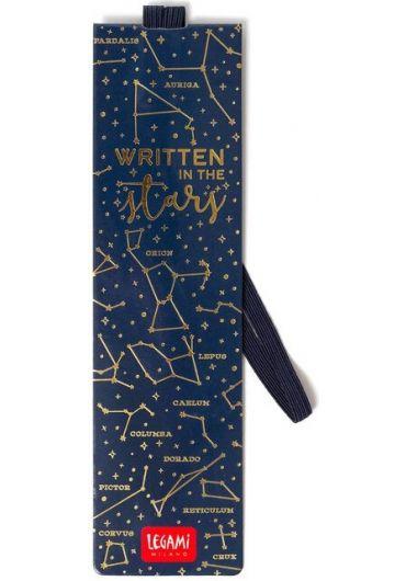 Semn de carte cu elastic - Written in the Stars
