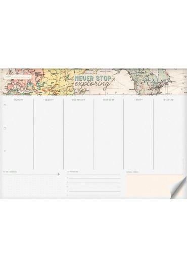 Planner saptamanal - Smart Week - Map