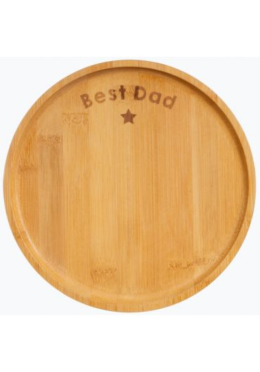 Farfurie din bambus - Best Dad