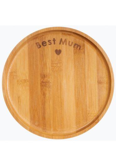 Farfurie din bambus - Best Mum