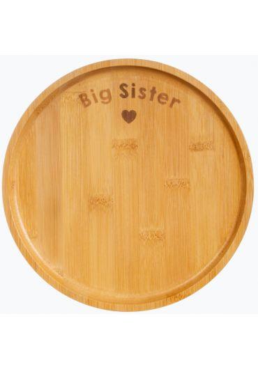 Farfurie din bambus - Big Sister