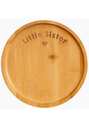Farfurie din bambus - Little Sister