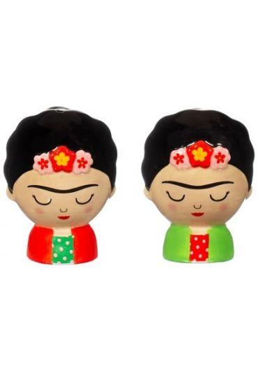 Set 2 recipiente pentru sare si piper - Frida