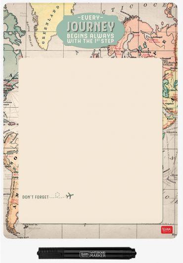 Tablita magnetica si marker - Map