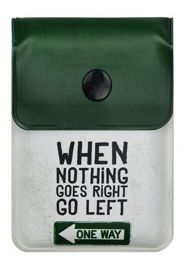 Scrumiera portabila - Go left