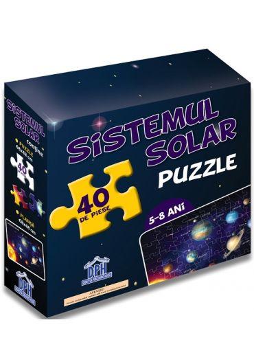 Puzzle educativ - Sistemul Solar (5-8 ani)
