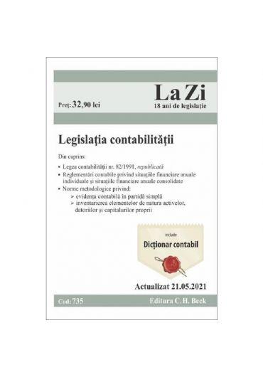 Legislatia contabilitatii actualizata 21.05.2021