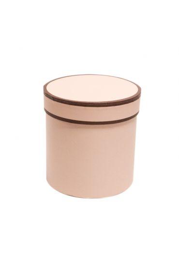 Cutie cadou cilindrica 12x12 cm Simply Roz Pal