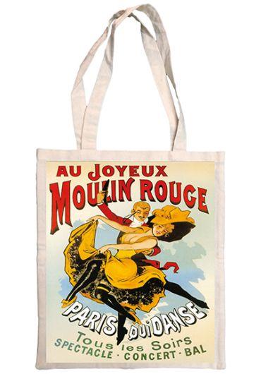 Plasa bumbac - Joyeux Moulin Rouge