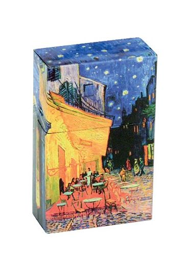 Cutie metalica tigari - Vincent Van Gogh Cafe Terasse