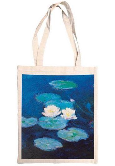 Plasa bumbac - Monet - Nympheas Waterlilies