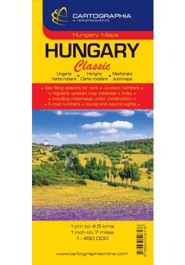 Harta rutiera Ungaria