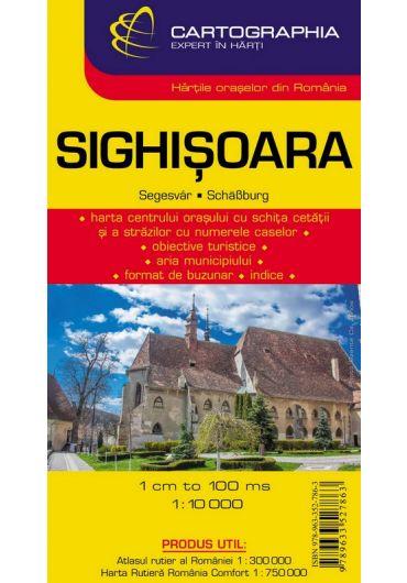 Harta rutiera Sighisoara