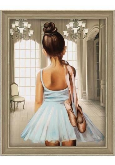 Tablou cu diamante - Micuta balerina