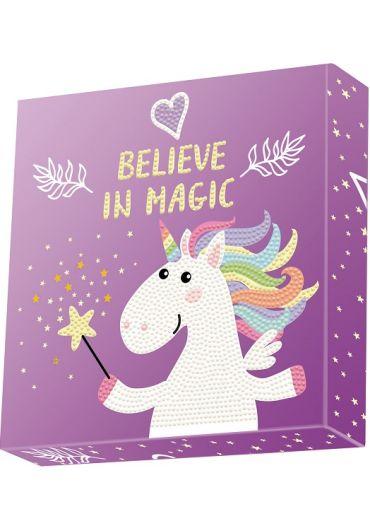 Tablou Diamond Box – Unicorn magic