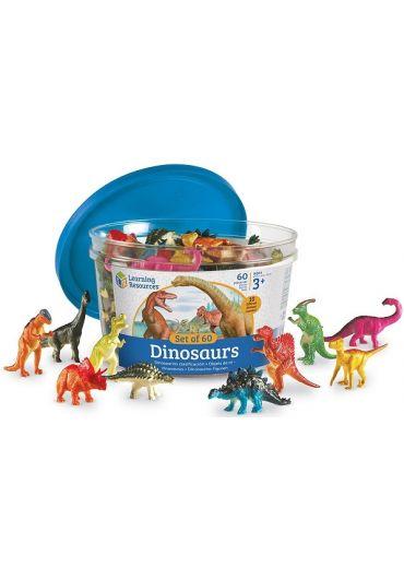 Set pentru sortat - Dinozauri jucausi