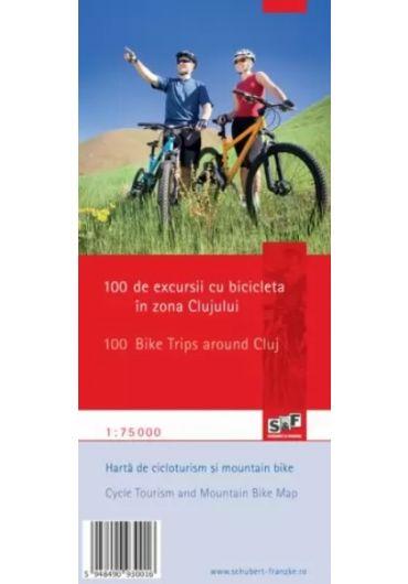 100 de excursii cu bicicleta in zona Clujului