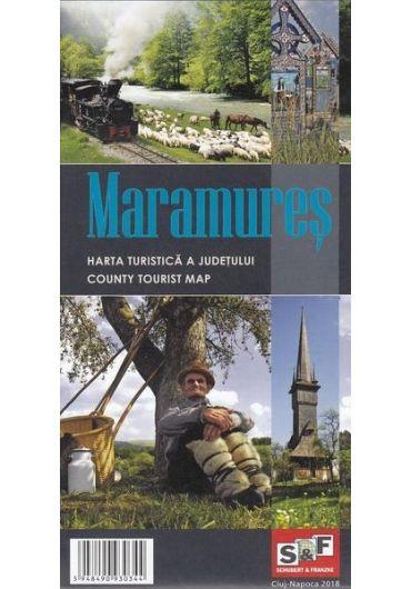 Harta Turistica a Judetului Maramures - Ed. 2