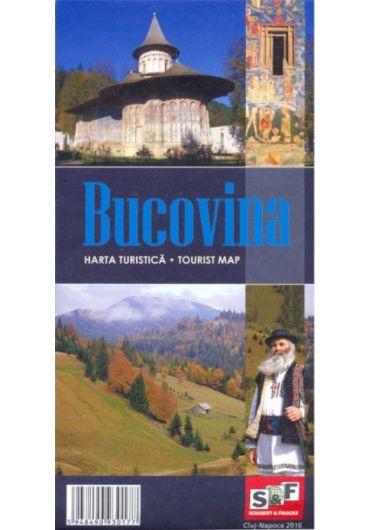 Harta Turistica Bucovina