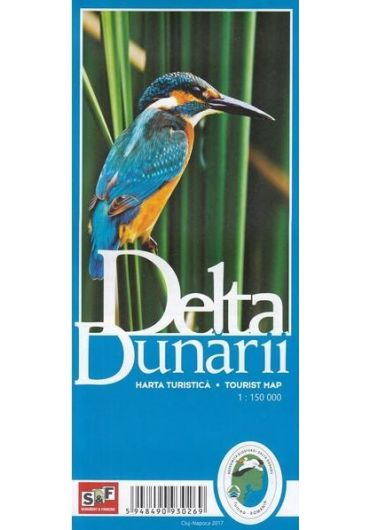 Harta Turistica Delta Dunarii - Ed. 2