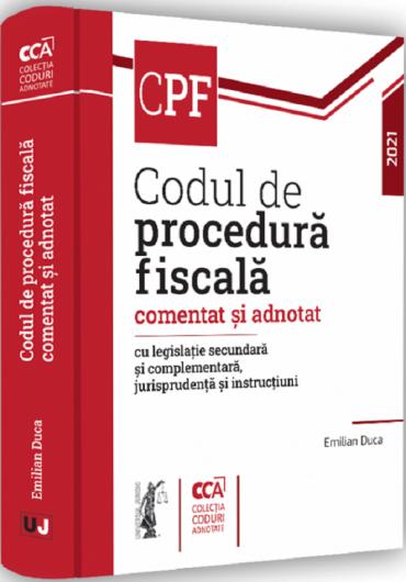 Codul de procedura fiscala comentat si adnotat 2021