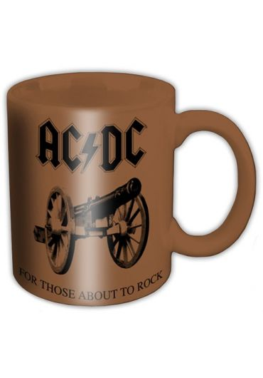 Cana ceramica - ACDC - For those about to rock