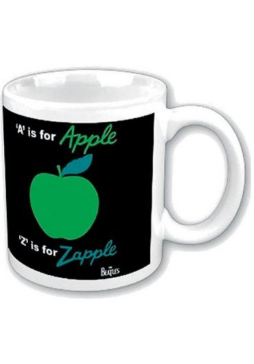 Cana ceramica - The Beatles - A is for Apple, Z is for Zapple