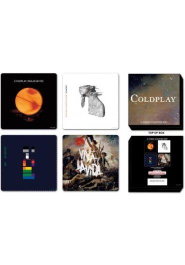 Set 4 suporturi pahare - Coldplay - Logos