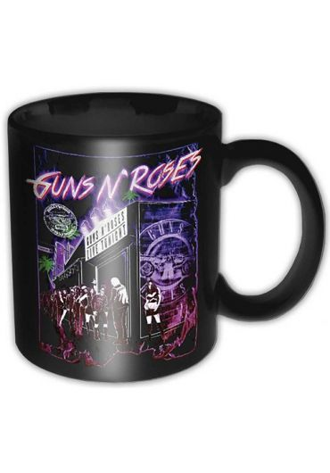 Cana ceramica - Guns N' Roses - Sunset Boulevard