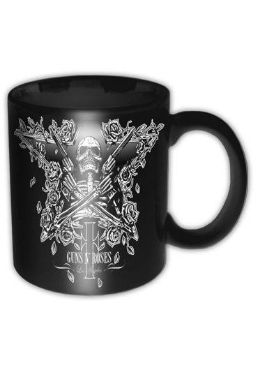 Cana ceramica - Guns N' Roses - Skeleton