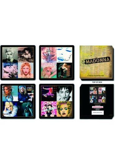 Set 4 suporturi pahare - Madonna - Mixed Madonna