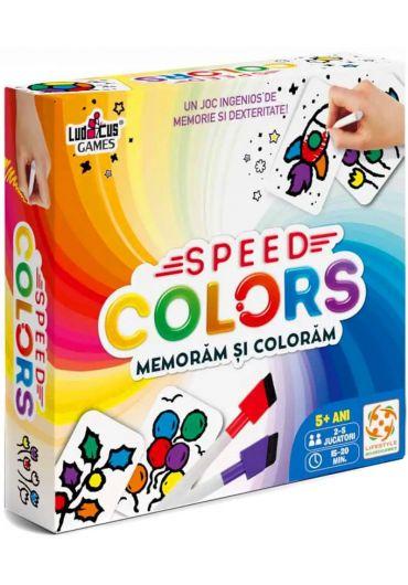 Joc Speed Colors - Memoram si coloram