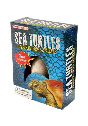 Jucarie - Glow in the Dark Sea Turtle Dig It Out Kit