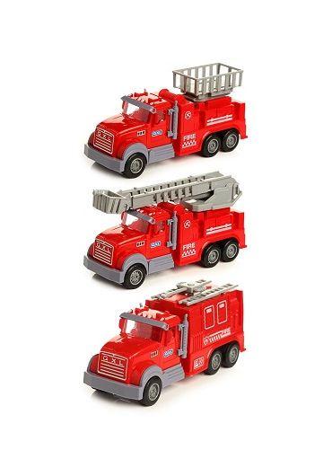 Jucarie - Pullback Fire Engine Rescue Truck