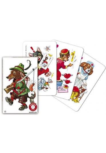 Carti de joc - Pacalici - Catei (Black Peter)